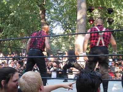 Heavy Montreal Lutte Heavy Mania 06-08-16
