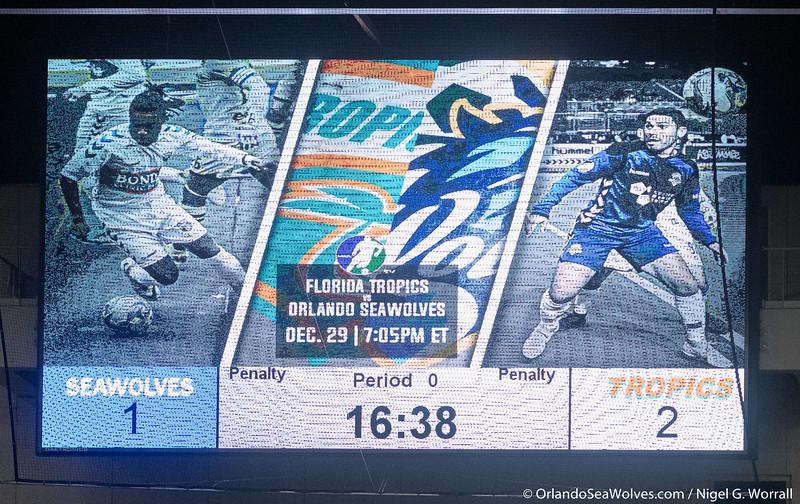 Florida Tropics vs Orlando SeaWolves RP Funding Center, Lakeland,  Florida - 29th December 2018 (Photographer: Nigel G Worrall)