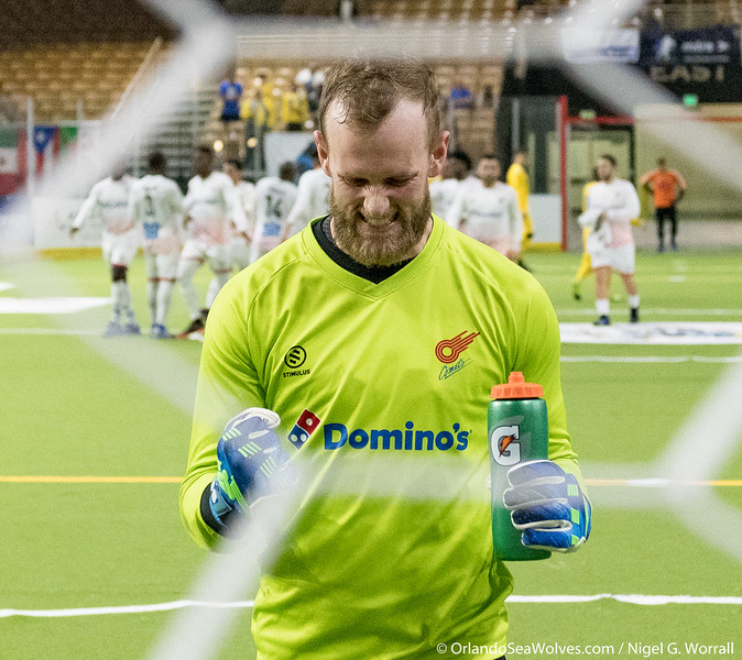 Orlando SeaWolves vs Kansas City Comets, Silver Spurs Arena, Kissimmee,  Florida - 29th March 2019 (Photographer: Nigel G Worrall)