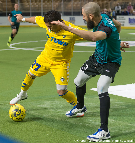 Orlando SeaWolves vs St. Louis Ambush, Silver Spurs Arena, Kissimmee,  Florida - 25th January 2019 (Photographer: Nigel G Worrall)
