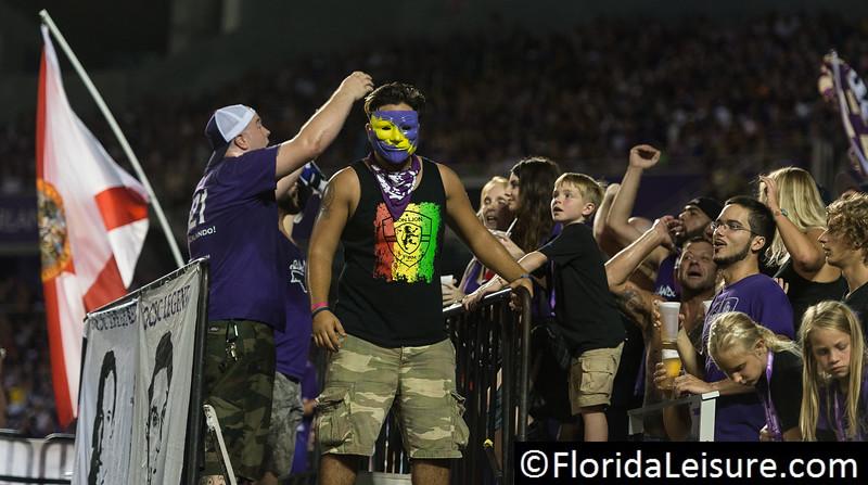 Orlando City Soccer 0 New York Red Bulls 2, Orlando Citrus Bowl, Orlando, Florida - 18th July 2015 (Photographer: Nigel G Worrall)