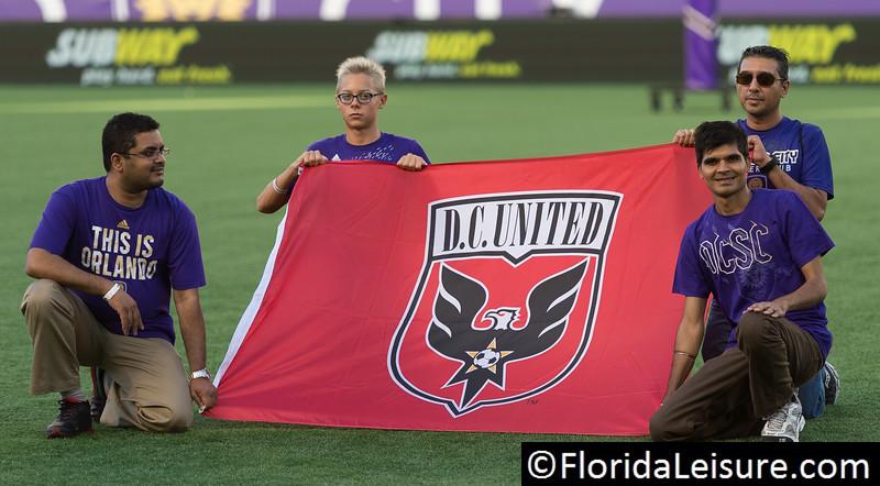 Orlando City Soccer 1 D. C. United 0, Orlando Citrus Bowl, Orlando, Florida - 14th June 2015 (Photographer: Nigel G Worrall)