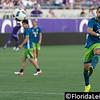Orlando City Soccer 1 Seattle Sounders 3, Camping World Stadium, Orlando, Florida - 7th August 2016 (Photographer: Nigel G Worrall)