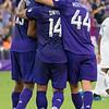 Orlando City Soccer 2 FC Dallas 0, Exploria Stadium, Orlando, Florida - 3rd August 2019  (Photographer: Nigel G Worrall)