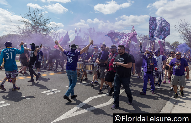 Orlando City Soccer 2 New York City FC 2, Orlando City Stadium, Orlando, Florida - 2nd March 2018  (Photographer: Nigel G Worrall)