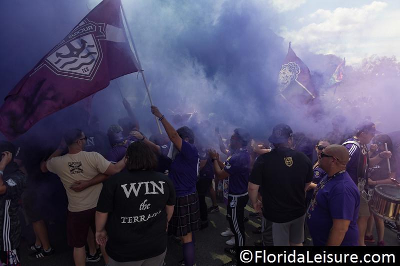 Orlando City Soccer 2 New York City FC 2, Orlando City Stadium, Orlando, Florida - 2nd March 2018  (Photographer: Nigel G Worrall)