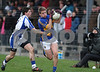 200113 McGrath Cup Football Semi Final  Tipperary v Waterford.   Tipperary's  Bill Maher weaves past Tony Grey Waterford. Photo Andy Jay