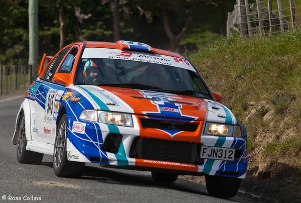 Dunlop Targa Rally 2010