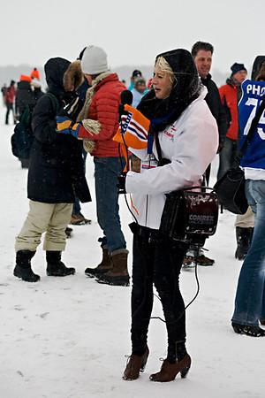 NK Schaatsen voor heren op het Zuidlaardermeer - 10 februari 2010