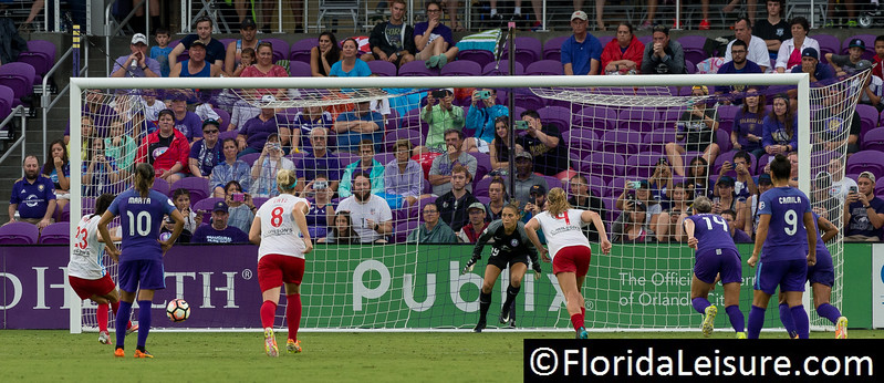 Orlando Pride 0 Chicago Red Stars 1, Orlando City Stadium, Orlando, 1st July 2017 (Photographer: Nigel G Worrall)