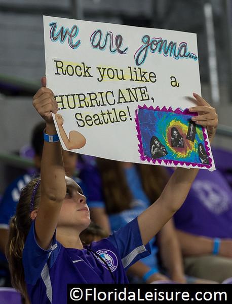 Orlando Pride 1 Seattle Reign 1, Orlando City Stadium, Orlando, 7th September2017 (Photographer: Nigel G Worrall)