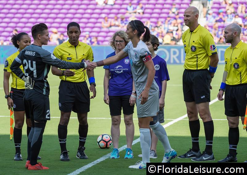 Orlando Pride 3 North Carolina Courage 1, Orlando City Stadium, Orlando, 14th May 2017 (Photographer: Nigel G Worrall)