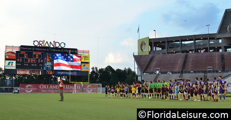 Orlando City Soccer vs. Charleston Battery, USL PRO Play Off Semi Final, Orlando, Florida - 30 August 2013 (Photographer: Nigel Worrall)