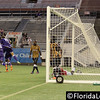 Dennis Chin scores Orlando City Soccer's third goal in 19th minute vs. Charleston Battery, USL PRO Play Off Semi Final, Orlando, Florida - 30 August 2013 (Photographer: Nigel Worrall)