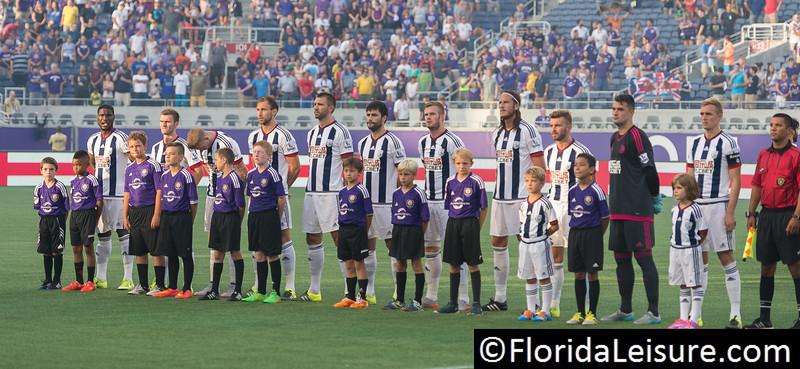 Orlando City Soccer 3 West Bromwich Albion 1, Orlando Citrus Bowl, Orlando, Florida - 15th July 2015 (Photographer: Nigel G Worrall)