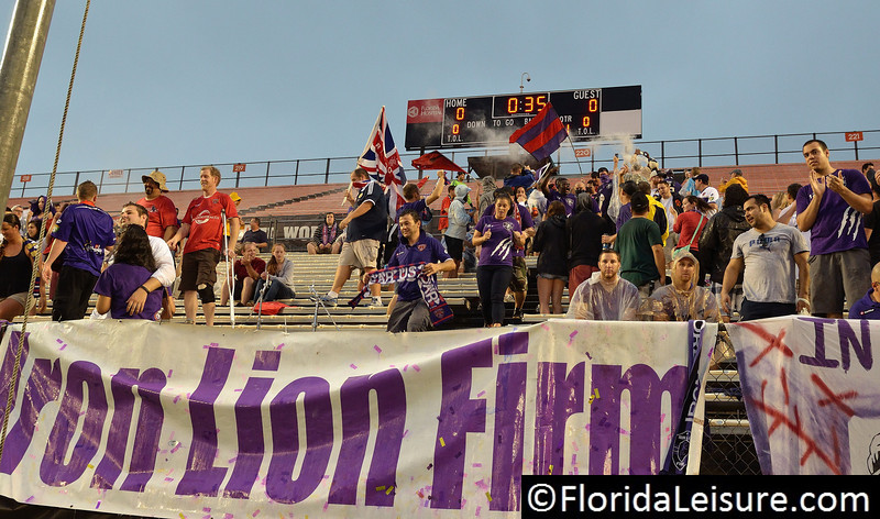 Orlando City Soccer vs. Pittsburgh Riverhounds, Orlando, Florida - 24 August 2013