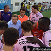 Adrian Heath, Head Coach of Orlando City Soccer rallies his players ahead of the game with Phoenix FC Orlando, Florida - 7 June 2013