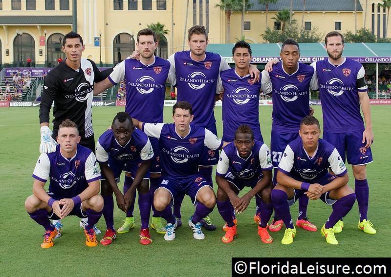 Orlando City Soccer vs. LA Galaxy II, 28 June 2014 (Photographer: Nigel Worrall)
