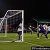 Tyler Turner - Orlando City Soccer heads towards goal vs. OC Blues, Orlando, Florida - 11 June 2014 (Photographer: Nigel Worrall)