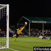 Josh Ford - OC Blues makes a save from Corey Hertzog - Orlando City Soccer, Orlando, Florida - 11 June 2014 (Photographer: Nigel Worrall)