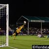 Josh Ford - OC Blues makes a save from Corey Hertzog - Orlando City Soccer, Orlando, Florida - 11 June 2014 (Photographer: Nigel Worrall)