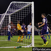 Brad Rusin (3) scores for Orlando City Soccer vs. OC Blues, Orlando, Florida - 11 June 2014 (Photographer: Nigel Worrall)
