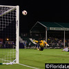 Corey Hertzog - Orlando City Soccer goes close to scoring vs. Josh Ford - OC Blues, Orlando, Florida - 11 June 2014 (Photographer: Nigel Worrall)