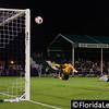 Corey Hertzog - Orlando City Soccer goes close to scoring vs. Josh Ford - OC Blues, Orlando, Florida - 11 June 2014 (Photographer: Nigel Worrall)
