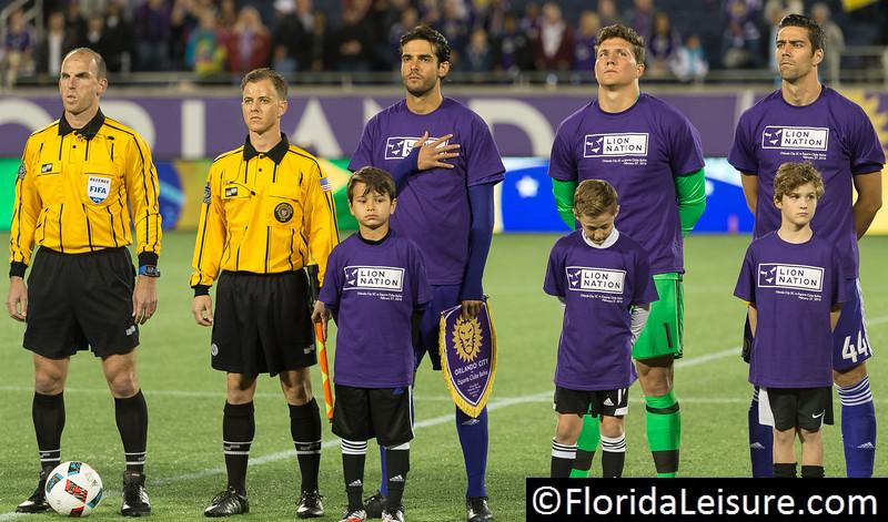 Orlando City SC 6 Esporte Club Bahia 1, Orlando Citrus Bowl, Orlando, Florida - 27th February 2016 (Photographer: Nigel G Worrall)