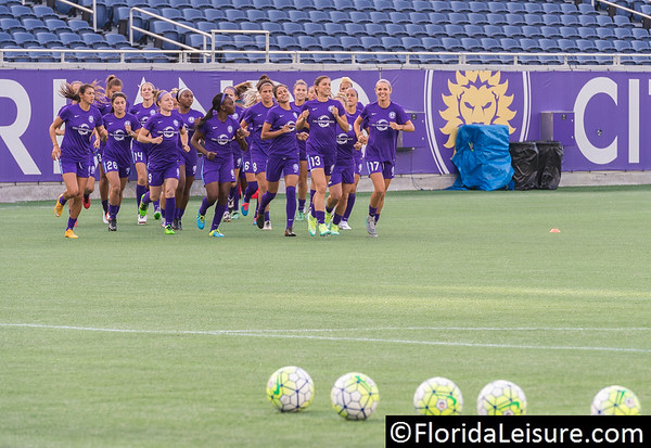 Orlando Pride 2016 Open Training