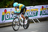 I. Chzhan down Nattland Road in The Cycling Road World Championships Men Junior Individual Time Trial 20/9-2017.