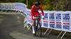 O. Hjelmesæter up Birkelundsbakken in The Cycling Road World Championships Men Junior Individual Time Trial 19/9-2017.
