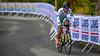 Merdj Aymen up Birkelundsbakken in The Cycling Road World Championships Men Junior Individual Time Trial 19/9-2017.