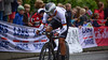L. Heinschke up Birkelundsbakken in The Cycling Road World Championships Men Junior Individual Time Trial 19/9-2017.