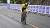 L. Kvist up Birkelundsbakken in The Cycling Road World Championships Men Junior Individual Time Trial 19/9-2017.
