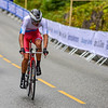 N. Martynov up Birkelundsbakken in The Cycling Road World Championships Men Junior Individual Time Trial 19/9-2017.