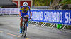 T. Chaiyasombat up Birkelundsbakken in The Cycling Road World Championships Men Junior Individual Time Trial 19/9-2017.