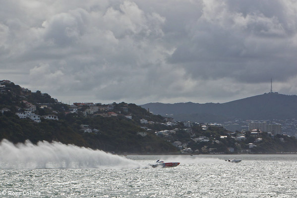 NZ Offshore Powerboat Series, Wellington Harbour, 21 March 2009