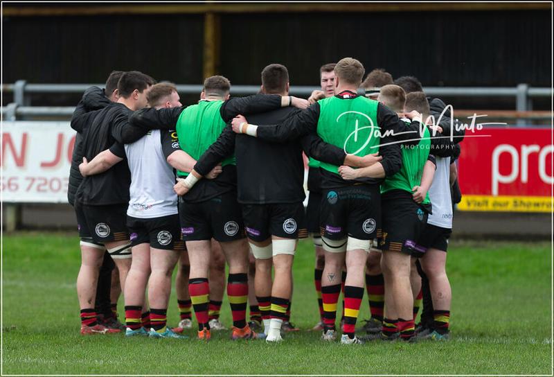 Images from the Principality Welsh Premiership rugby match between Bridgend Ravens and Carmarthen Quins.  Final score: Bridgend 14 Carmarthen 20.
