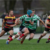 Images from the Indigo Welsh Premiership rugby match between Carmarthen Quins  and Llandovery RFC.