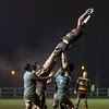 Images from the Welsh National Cup Quarter Final rugby match between Pontypool RFC and Carmarthen Quins.