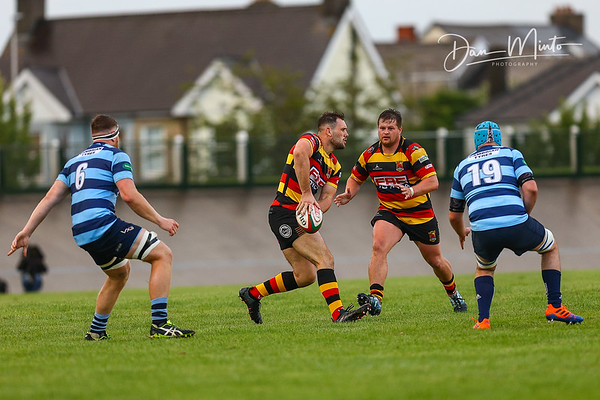 Images from the pre-season friendly rugby match between Carmarthen Quins and Aberystwyth RFC
