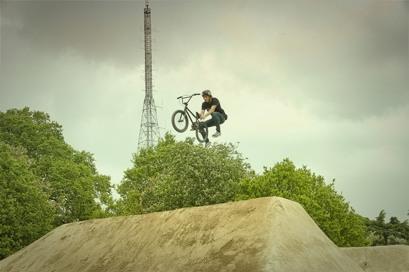 Matt Priest - Red Bull Empire of Dirt 2012, Alexandra Palace, London, England.