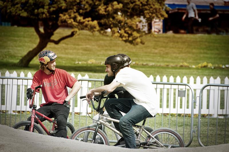 Drew Bezanson and Chris Doyle - Red Bull Empire of Dirt 2012, Alexandra Palace, London, England.