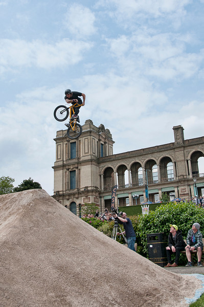 Bob Manchester - Red Bull Empire of Dirt 2012, Alexandra Palace, London, England.