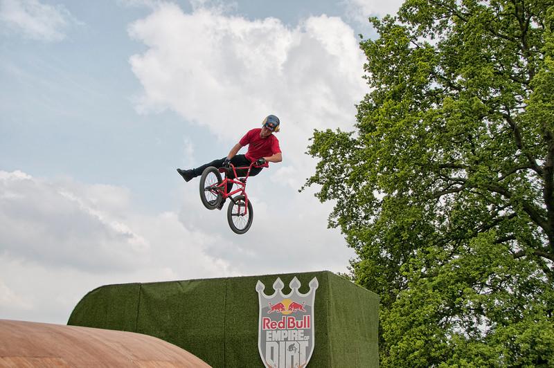 Drew Bezanson - Red Bull Empire of Dirt 2012, Alexandra Palace, London, England.