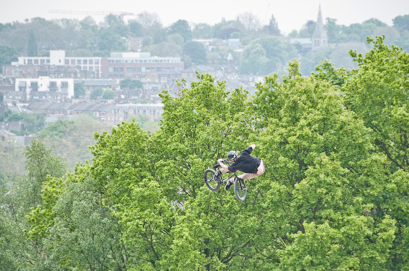 Ben Wallace - Red Bull Empire of Dirt 2012, Alexandra Palace, London, England.