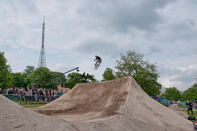 Ali Whitton - Red Bull Empire of Dirt 2012, Alexandra Palace, London, England.