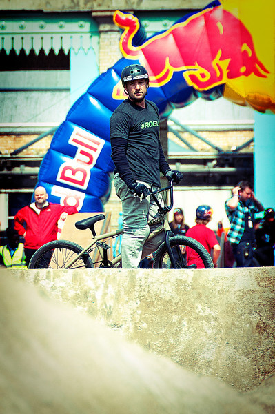 Rob Darden - Red Bull Empire of Dirt 2012, Alexandra Palace, London, England.