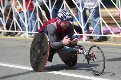 Boston Marathon, 2014. Mostly at Coolidge Corner